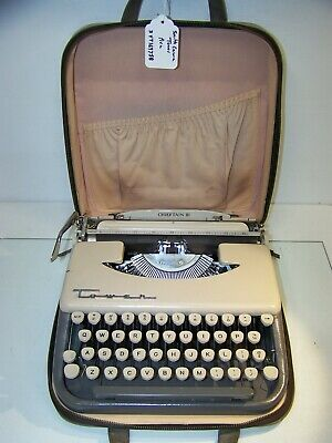 Antique 1960 Tower Chieftain III Made by Smith Corona Typewriter 3YT169758