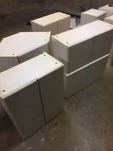 9 Cabinets + Counter top and sink for sale
