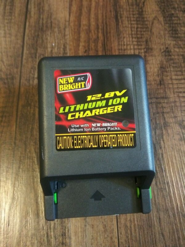 New Bright 12.8V R/C Radio Car Battery Charger Lithium Ion