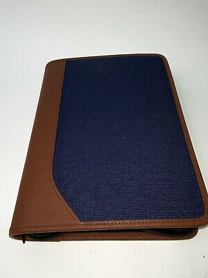 At A Glance Planner Desk Organizer 6 Ring Binder Personal Small Never Used
