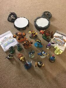 SKYLANDERS FIGURES GAME BUNDLE FOR PS3!!!
