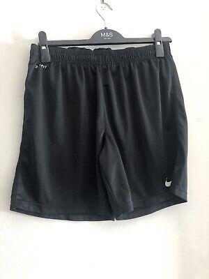 Nike Dri-Fit Mens Black Sports Shorts Size M