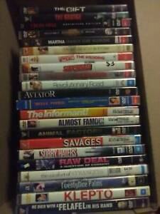 DVDs LOT - indie, horror, comedy, doco, drama,Hollywood blockbuster et