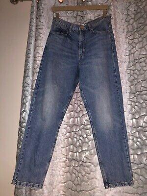 Size 38 Jeans Zara Blue Denim Size 10 Mom Jeans