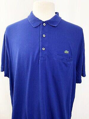 Lacoste Shirt Regular First 4XL Blue Polo