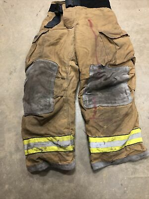 Mfg. 2007 Globe Gxtreme 36 X 30 Firefighter Turnout Bunker Pants Fire Rescue