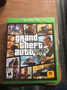 Grand Theft Auto V BRAND NEW Xbox ONE