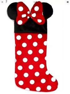 🎄 Disney  Minnie Mouse Personalised Christmas stocking decoration- New 🎄
