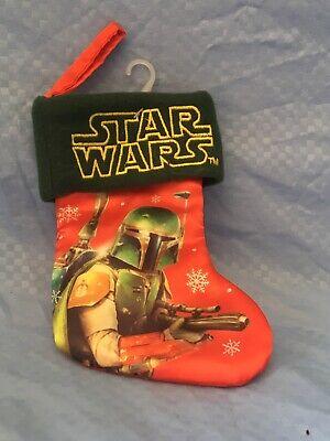 "BRAND NEW 8"" STAR WARS MINI CHRISTMAS STOCKING Decorations Holiday"
