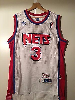 Canotta nba basket Drazen Petrovic maglia New Jersey Nets maglietta S/M/L/XL/XXL