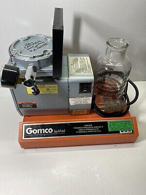 Allied Gomco 300 Medic Surgical Portable Aspirator Vacuum Suction Diaphragm Pump