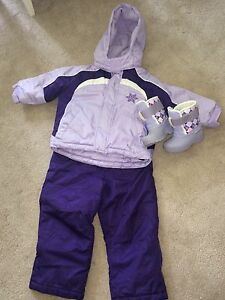 Girl's Snowsuit size 2