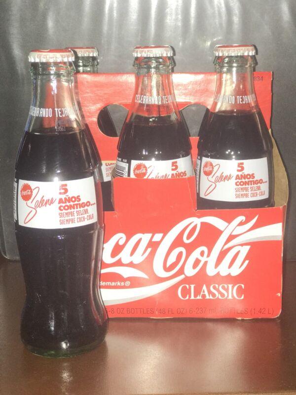 1994 Selena Coca Cola 8 oz bottle