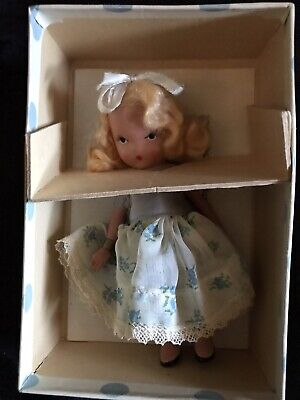 Goldilocks Nancy Ann Storybook Doll - Hard Plastic #128 Fairytale - In Box