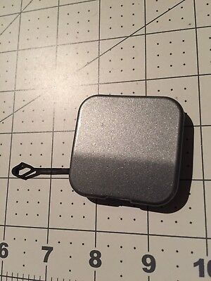 04-09 OEM Cadillac SRX SUV rear bumper tow cap cover plug eye square GRAY
