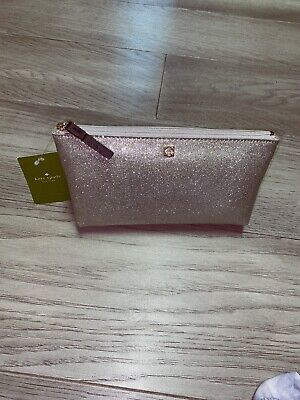 brand new kate spade cosmetic/travel bag