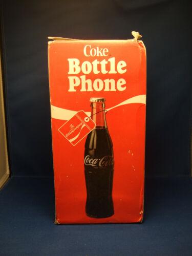 Vintage Coca-Cola BOTTLE PHONE Model 5000 Coke Telephone Circa 1983 NIB!