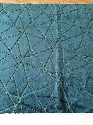 Harlequin velvet upholstery fabric remnant. 60cm length RRP £75pm, 'Zola'