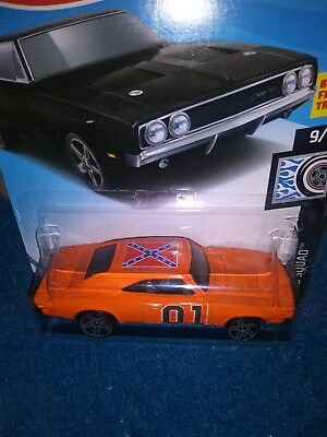 General Lee Dukes of Hazzard 69 Dodge Charger custom Hot Wheels ....