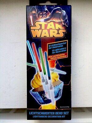 Star Wars Cake Light  Saber Cake decoration set