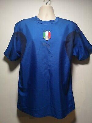 Puma Blue Italia / Italy Short Sleeve t-Shirt - Size M (333g)