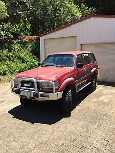 80 series Landcruiser 40th anniversary Brinsmead Cairns City Preview