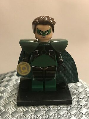 Custom DC Universe Lego Minifigure Parallax Old Green Lantern Super Hero, - Green Superhero