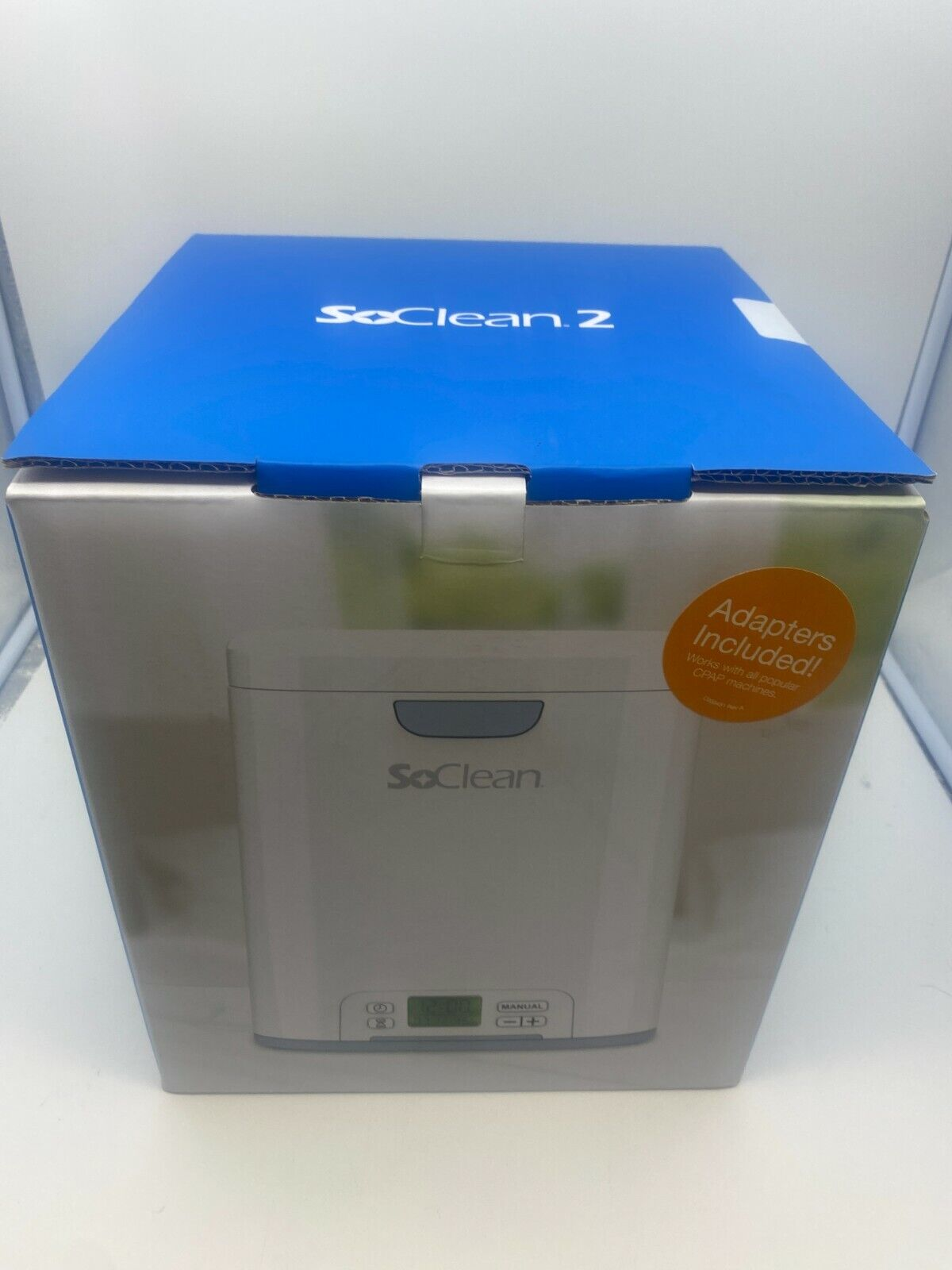 New Sealed SoClean 2 CPAP Equipment Automated Cleaner & Sani