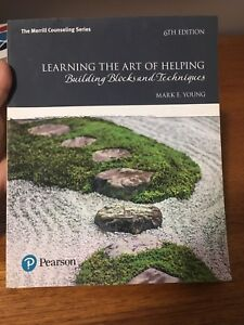 Learn the art of helping textbook