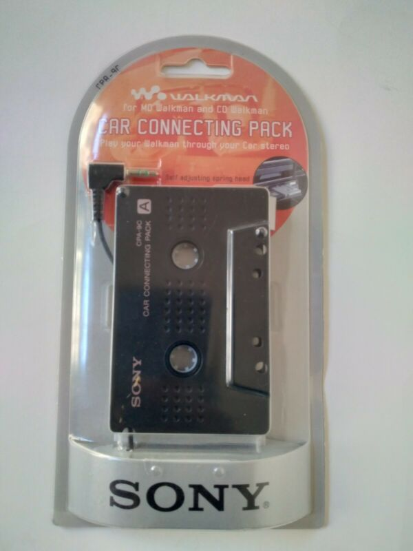 Sony Walkman Car Connecting Pack for MD / CD Walkman CPA-9C New Orig Packaging