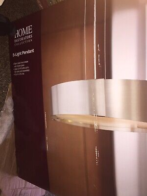 Home Decorators Collection 5-Light Satin Nickel Pendant Collections 5 Light Pendant
