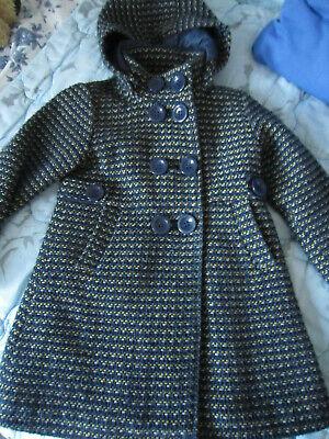 Manteau à capuchon 7 ans/122 - laine et polyester - JBC Outerwear