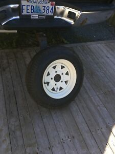 Brand new spareTire for Tow-Trailer .