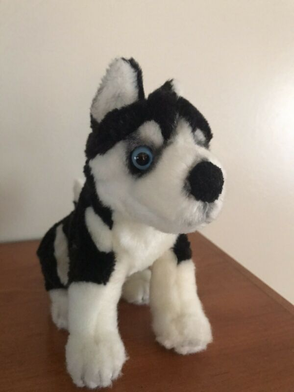 SIBERIAN HUSKY PLUSH Puppy Canine DOG  Blue Eyes WALT DISNEY Shasta Snow Buddies