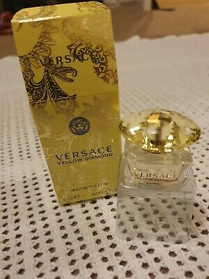Versace Yellow Diamond for Women Miniature Mini Perfume 5ml EDT