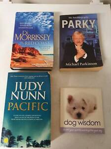 Assorted Books. Qty 4. $2 each