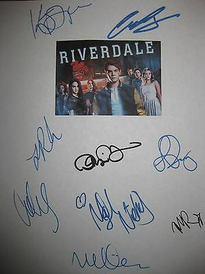 Riverdale Signed TV Script X9 K J Apa Luke Perry Lili Reinhart Cole Sprouse RPNT