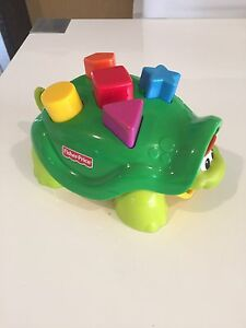 Fisher Price Pop out Turtle - surprise shapes Kewarra Beach Cairns City Preview