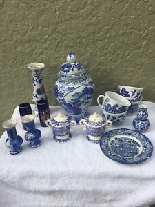 Various ornamental dishes