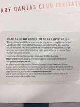 Double Qantas lounge passes Sydney City Inner Sydney Preview