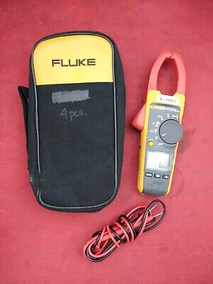 Wireless True-rms 375 Acdc Clamp Meter W Fluke Connect Compatibility And Vfd