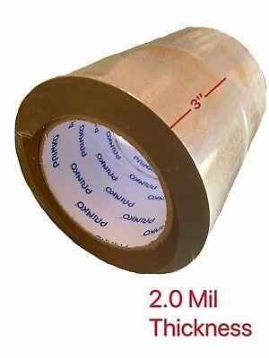 12 Rolls Browntan Packing Packaging Carton Sealing Tape 3 X 110 Yard 330 Ft