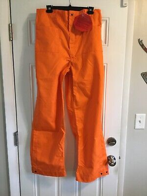 Wildland Firefighter Orange Nomex Pants Size M Barrier Wear New With Tag