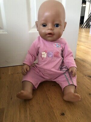 "Baby Born Interactive 16"" Doll"