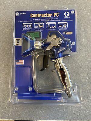 Graco 17y043 Contractor Pc Gun With 517 Rac X Lp Low Pressure Tip Genuine Graco