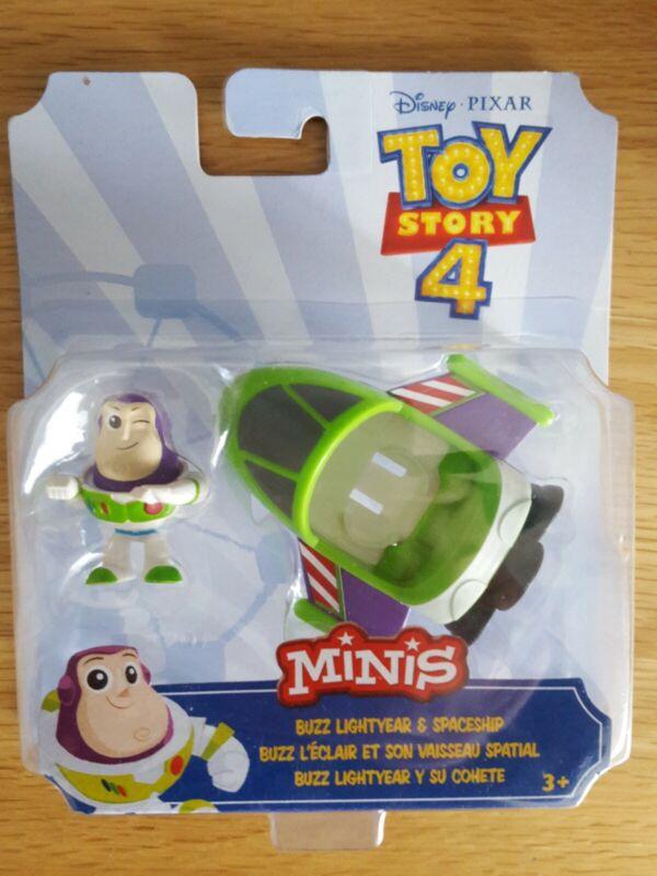 Disney+Pixar+Toy+Story+4+Minis+Buzz+spaceship+BNIB+UK+Seller+