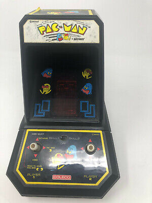 1981 Midway PAC-MAN Vintage TableTop Mini Arcade Video Game Coleco B659