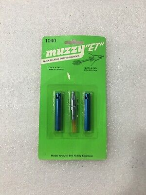 Muzzy 100 grain SG-X screw in #112 Small Game Head 3 pack