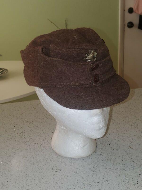 ORIGINAL ROYAL BULGARIAN ENLISTED WOOL M-43 CAP HAT