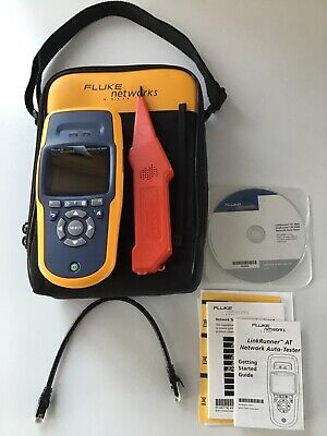 Fluke Networks Linkrunner At1000 With Case And Probe